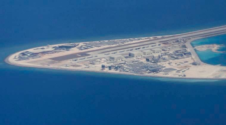 south china sea, philippines, china, manila, asia news, indian express
