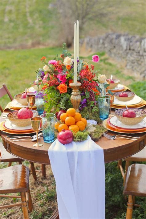 Picture Of boho chic wedding table settings to get inspired 15