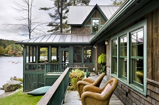 Lake House contemporary exterior