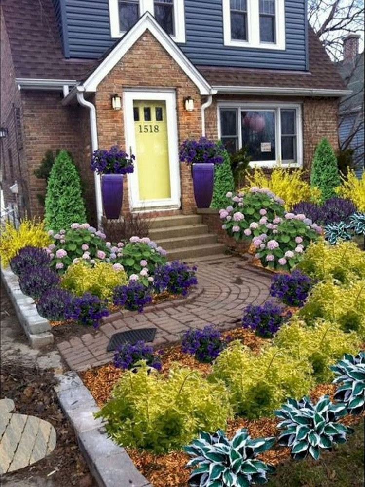 73+ Beautiful Small Front Yard Landscaping Ideas