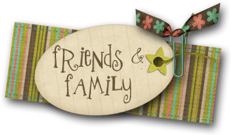 friends & family label