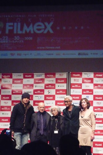 Tokyo Filmex Competition Jury poses for photo session