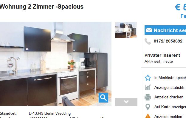 0172 2053692 wohnung 2 zimmer spacious 13349 berlin wedding. Black Bedroom Furniture Sets. Home Design Ideas