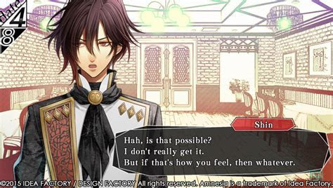 New Amnesia: Memories Screenshots Depict Shin, the Man