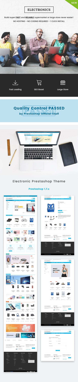 Electronics Prestashop Theme