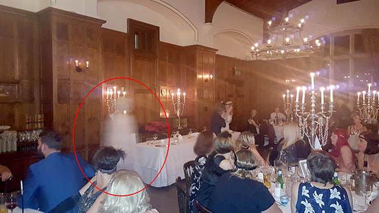 Presencia fantasmal hotel Gales