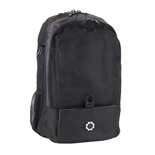 DadGear Backpack Diaper Bag - Solid Black
