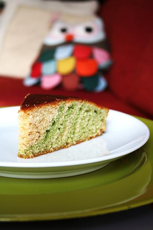zebra cake spinaci
