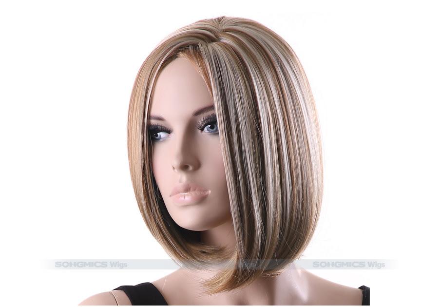 Kurze Braune Haare Mit Blonden Spitzen Moderne Frisuren