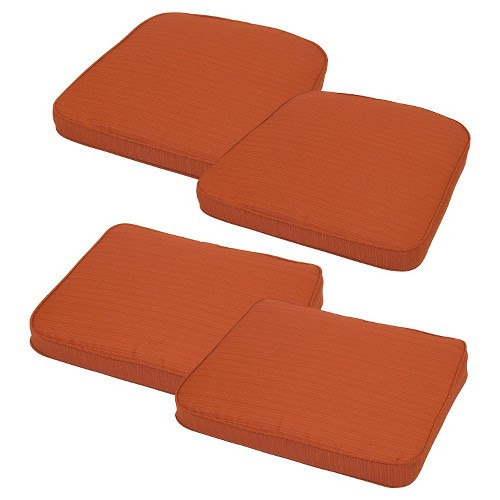 Threshold Loft 4-Piece Outdoor Replacement Patio Cushion ...