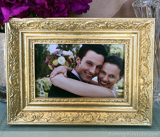 Gold Leaf 101 How To Gold Leaf A Picture Frame Running With Sisters