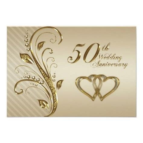 Free Printable 50th Anniversary Invitations   50th Wedding