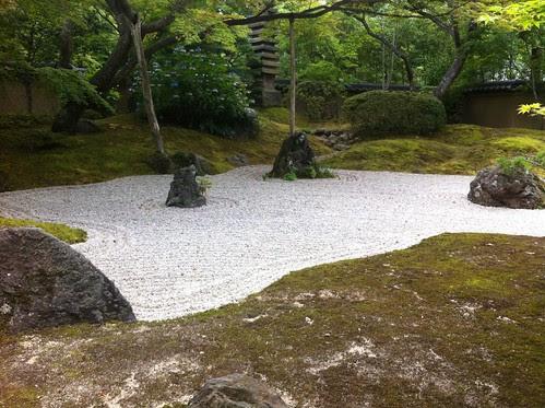 松島 円通院の枯山水