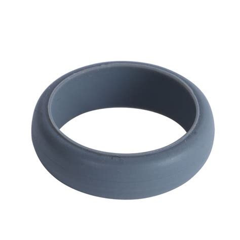 Fashion Cool Mens Boy Rubber Silicone Wedding Ring Band