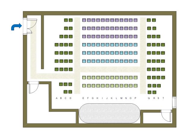 theater seat plan