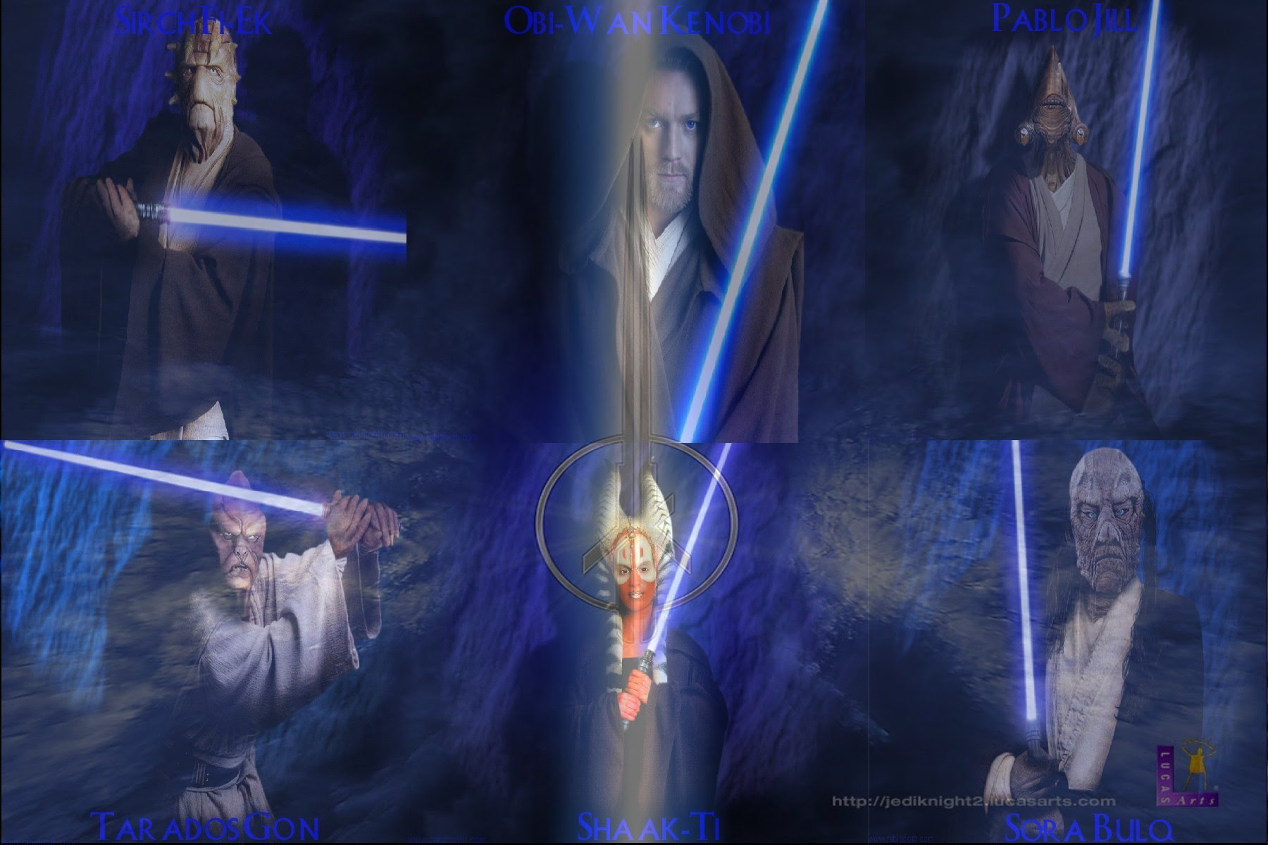 Jedi Knights Masters Star Wars Fan Art 16437837 Fanpop