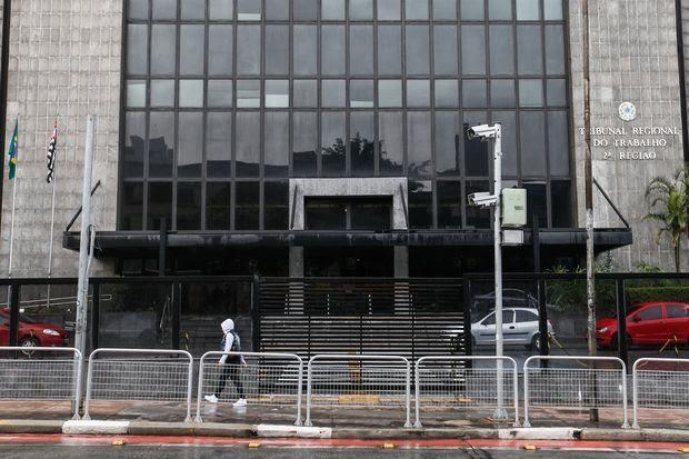 Tribunal Regional do Trabalho de São Paulo, um dos listados em auditoria feita pelo CNJ