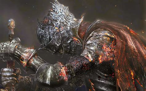 Download Dark Souls 3 Game Warrior 4K Wallpaper for