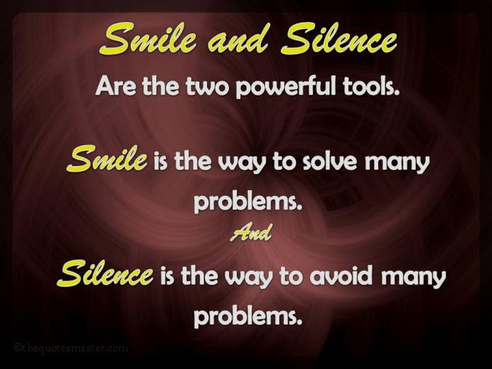 Smile And Silence