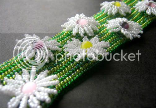 Daisy Patch Bracelet