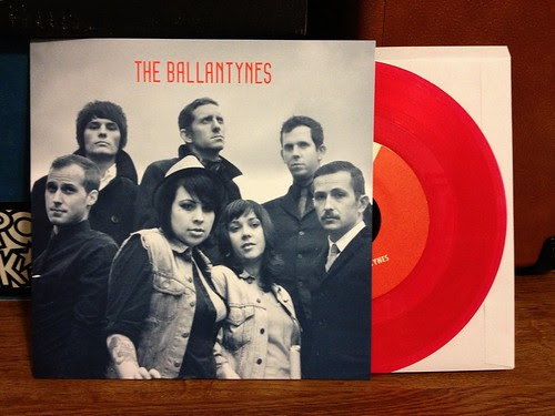 "The Ballantynes - Misery 7"" - Red Vinyl (/150) by Tim PopKid"