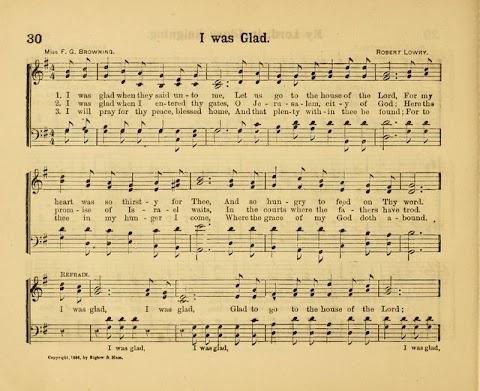 I Was Glad When They Said Unto Me Hymn Lyrics