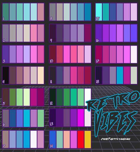 retro color palette tumblr