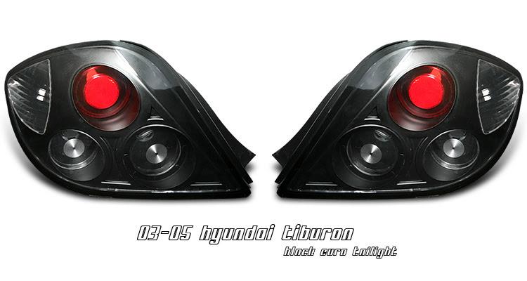Hyundai Tiburon Euro Tail Lights