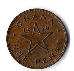 Penny, Ghana 1958