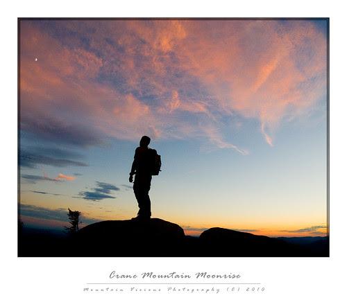 Crane Mountain Moonrise, Adirondack Mountains