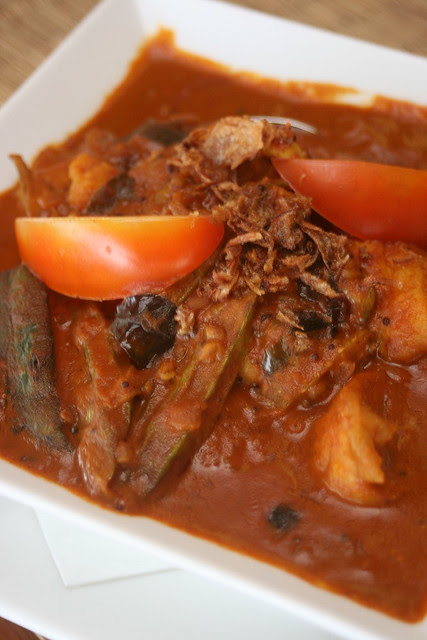 Spice Fish Curry - boneless fish filet served in coconut and tamarind curry gravy