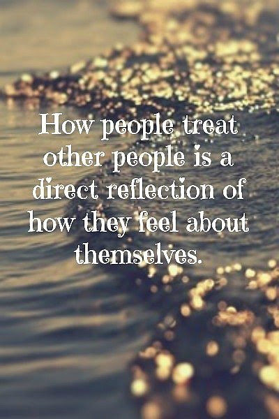 How People Treat Other People Quote Picture