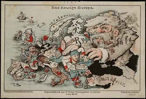 Das heutige Europa, 1875