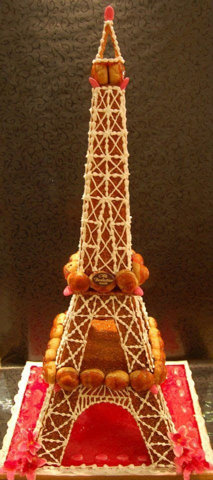 Tour Eiffel en choux   Pièce montée de choux divers
