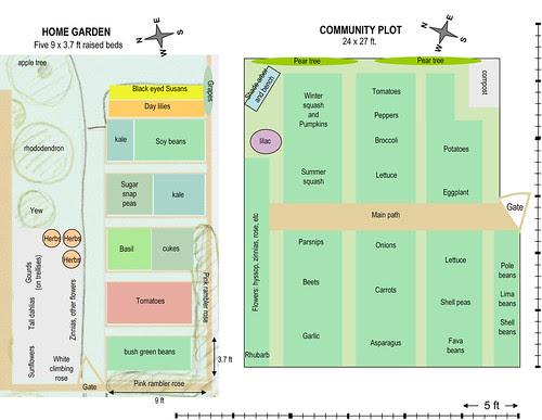 Microsoft PowerPoint - Vegetable garden plan 2009b