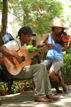 musicians all around us