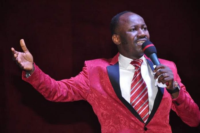 Government gives Apostle Johnson Suleman's pastor 48 hours notice to leave