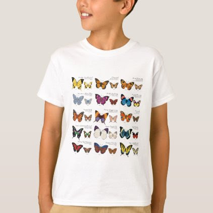 Butterfly Identification T-Shirt