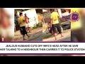 Marido corta cabeça da esposa e caminha com ela até a polícia; Assista vídeo