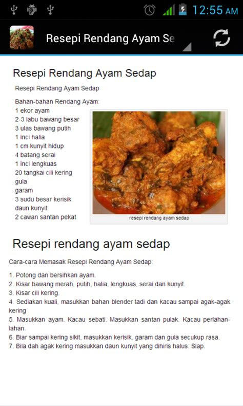 resepi rendang android apps  google play