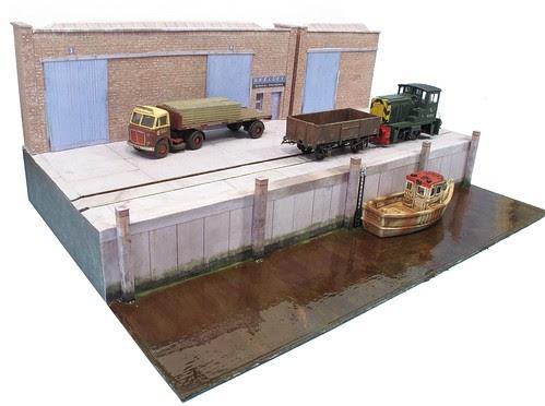 Dock Diorama