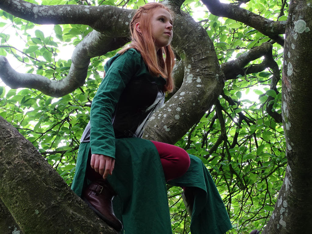 Tauriel- Treetop Guardian by NobleLunatic