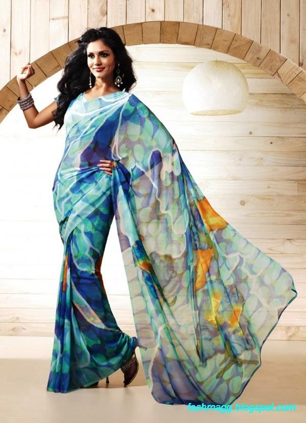 Printed-Saree-Indian-Pakistani-Beautiful-New-Fashionable-Sari-Collection-2013-1