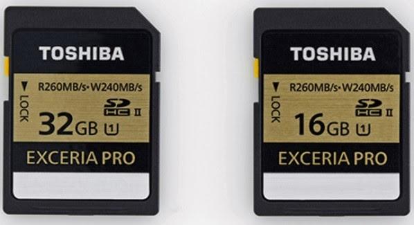توشيبا تكشف النقاب عن أسرع بطاقات ذاكرة في العالم