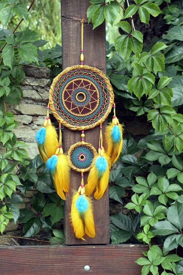 DIY Beautiful and Unique Dream Catcher Ideas (11)
