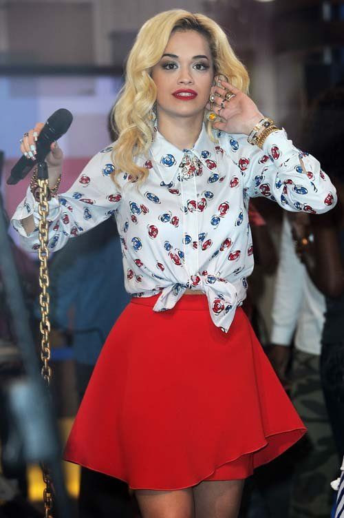 'Good Morning America' - June 19, 2012, Rita Ora