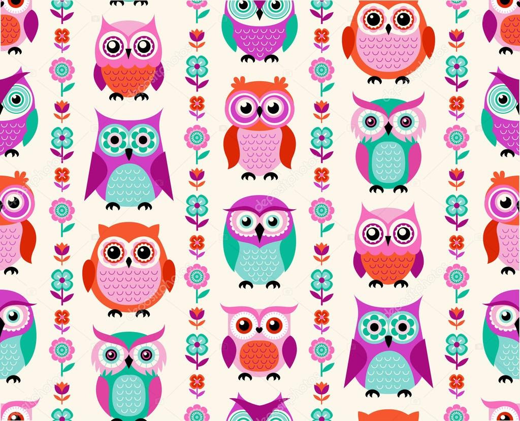 Owl Pattern Wallpaper Tumblr Crazywidowinfo