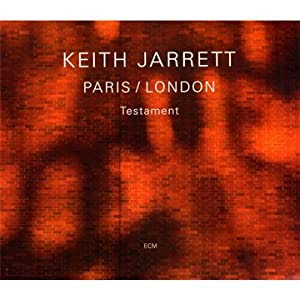 Keith Jarrett Paris/London:Testament cover
