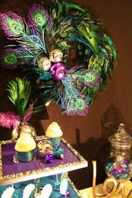 Peacock Decorating ideas