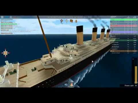 Roblox Titanic How To Lower The Rope How To Redeem Roblox Codes